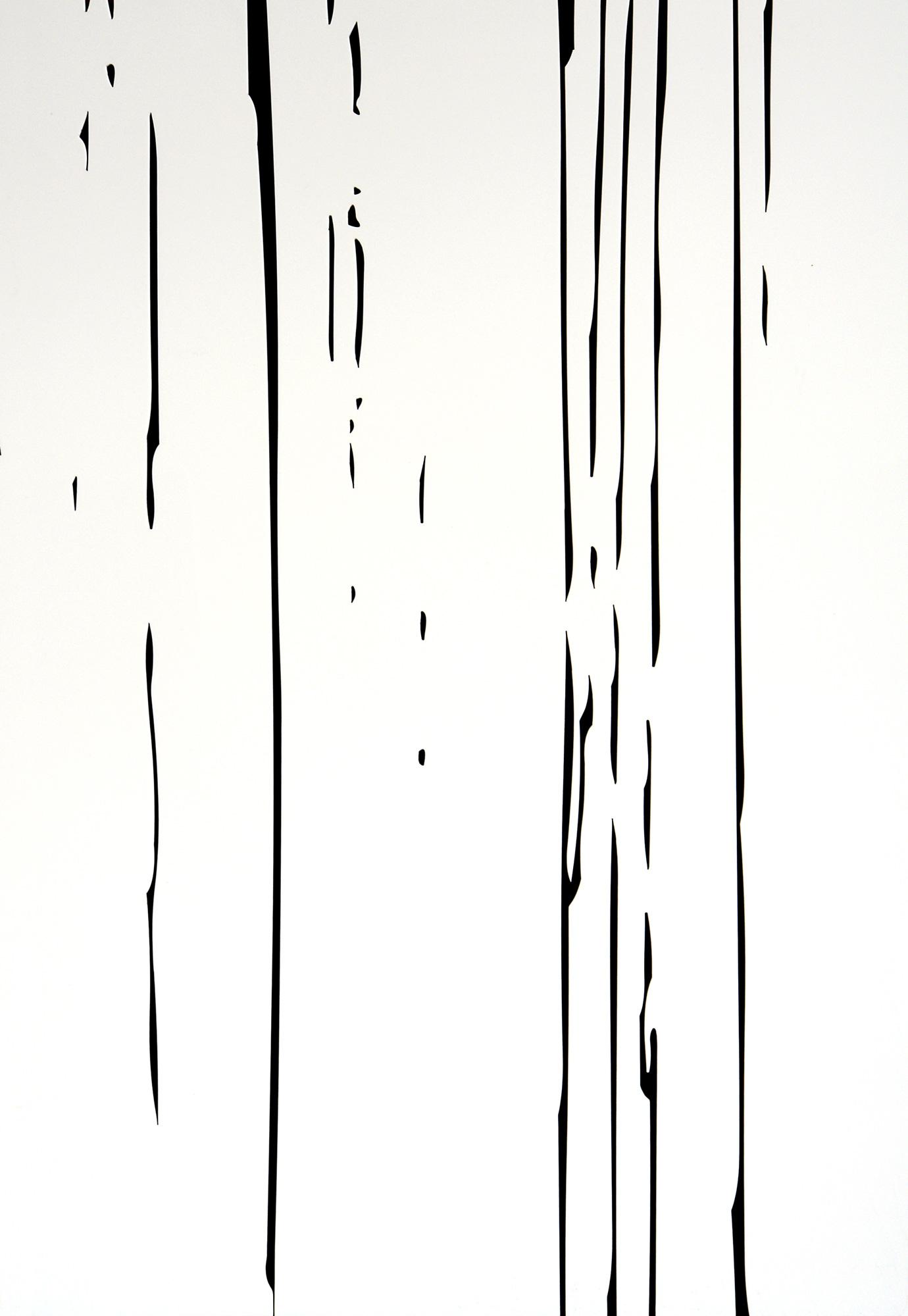 Black Rain I (detail)