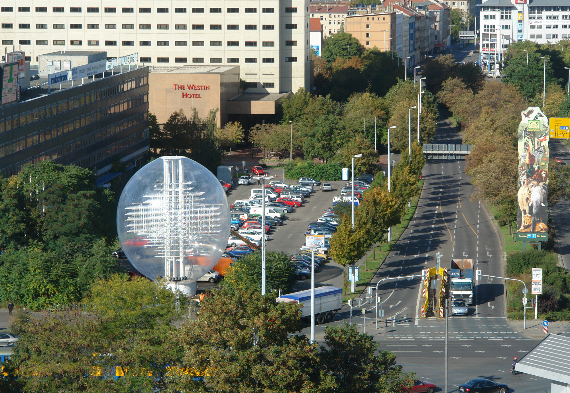 city view: Podjom (2009) in Leipzig