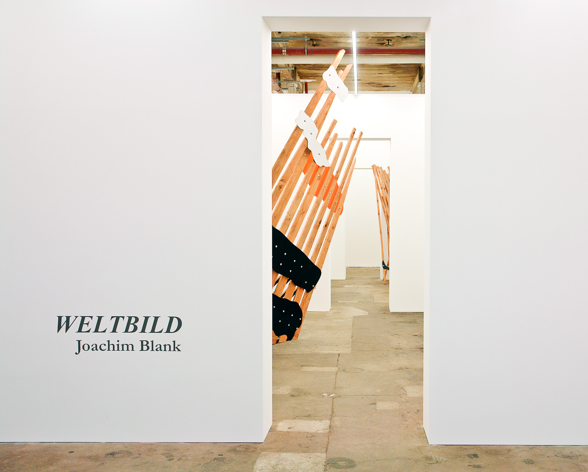 Columbus at Weltbild-exhibition, Filipp Rosbach Gallery