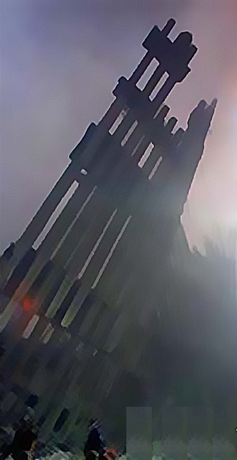 edited found footage web image